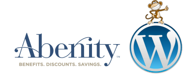 WordPress Abenity code